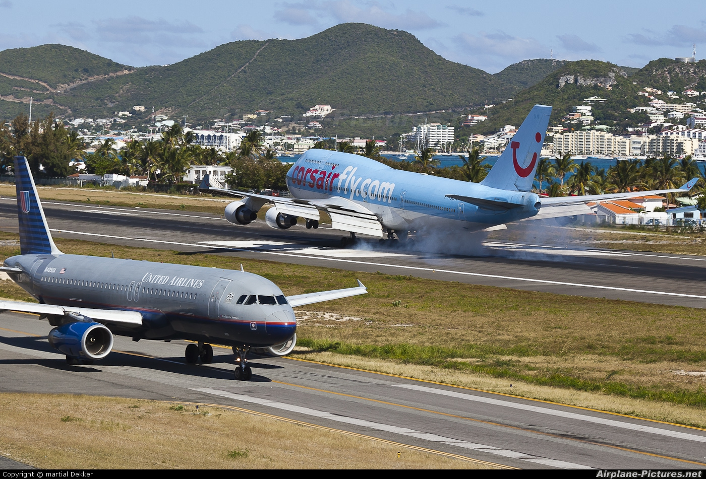 Corsair / Corsair Intl F-HSUN aircraft at Sint Maarten - Princess Juliana Intl