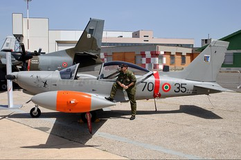 MM55126 - Italy - Air Force SIAI-Marchetti SF-260