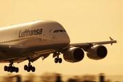 F-WWSN - Lufthansa Airbus A380 aircraft