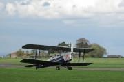 G-ANRF - Private de Havilland DH. 82 Tiger Moth aircraft
