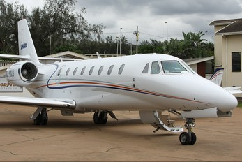 ZS-AKG - Private Cessna 680 Sovereign