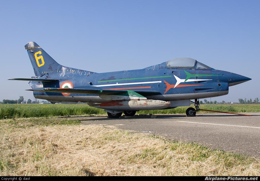 """Italy - Air Force """"Frecce Tricolori"""" MM6264 aircraft at Carpi - Budrione (Aviere Danilo Ascari"""