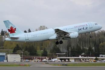 C-GQCA - Air Canada Jetz Airbus A320