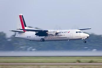 OO-VLE - CityJet Fokker 50