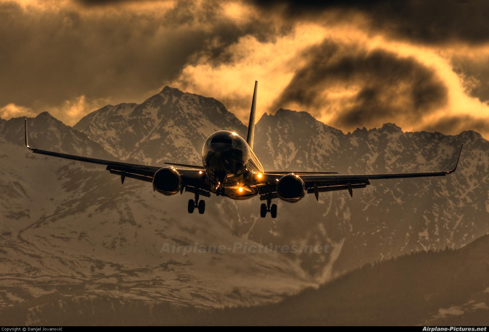 Transavia PH-XRC aircraft at Innsbruck