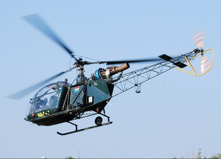 HA-PPJ - Private Sud Aviation SA-313 / 318 Alouette II (all models)