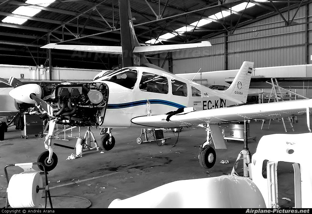 Cesda EC-KAY aircraft at Reus