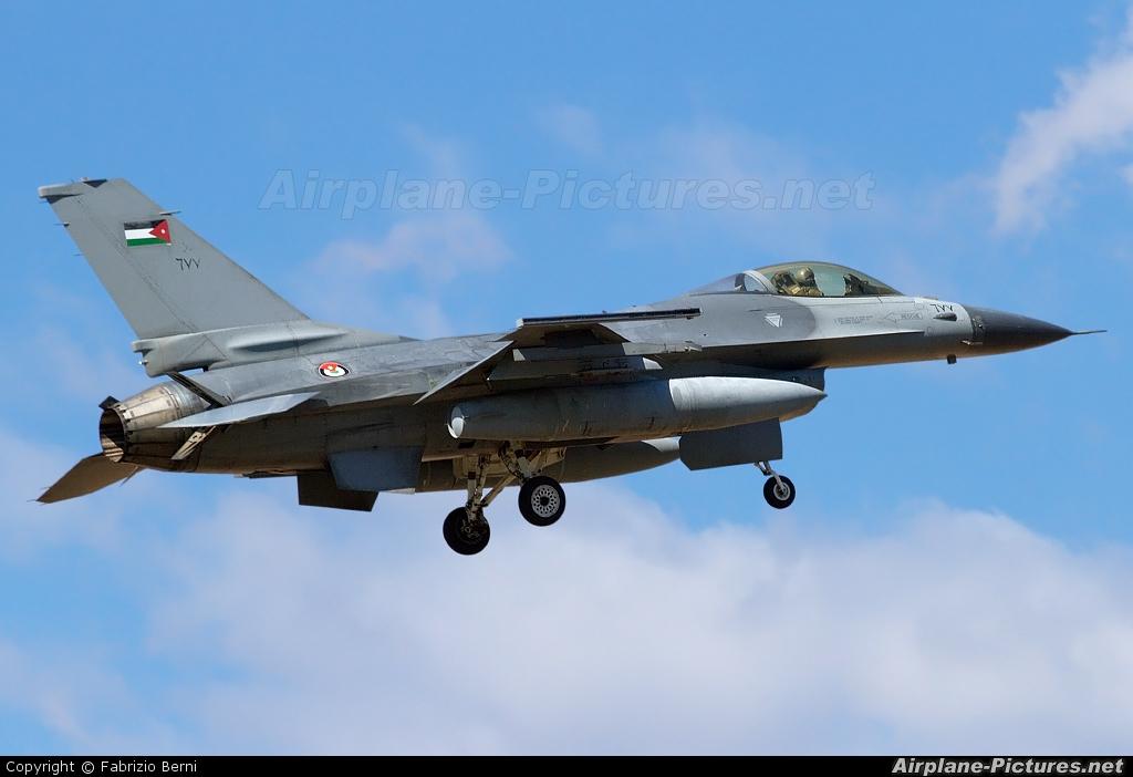 Jordan - Air Force 677 aircraft at Aviano