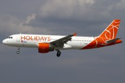 First A320 in the Holidays Czech Airlines fleet title=