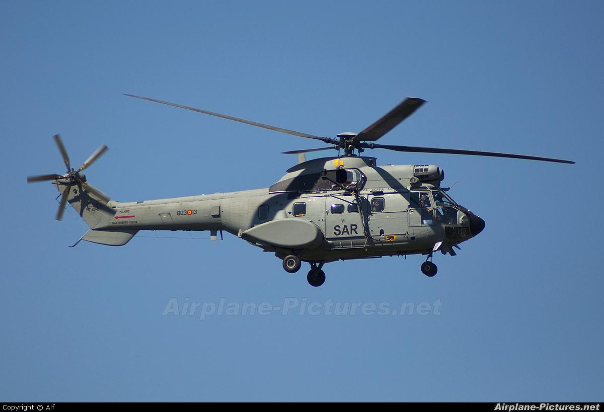 Spain - Air Force HT.21-01 aircraft at Madrid - Getafe