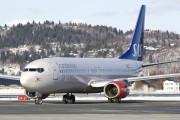 LN-RCN - SAS - Scandinavian Airlines Boeing 737-800 aircraft