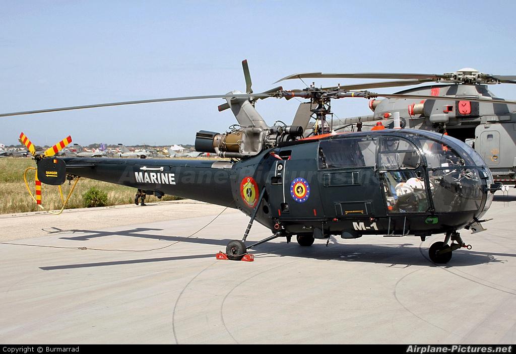 Belgium - Navy M-1 aircraft at Pratica di Mare
