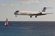 PJ-MDA - Insel Air McDonnell Douglas MD-83 aircraft