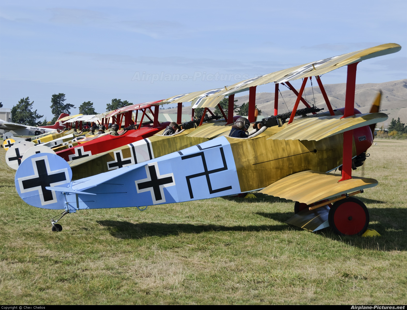 The Vintage Aviator Limited ZK-FOK aircraft at Omaka