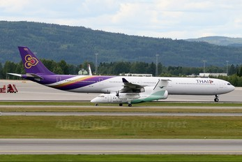 HS-TNF - Thai Airways Airbus A340-600