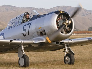 ZK-TVI - Private North American Harvard/Texan (AT-6, 16, SNJ series)