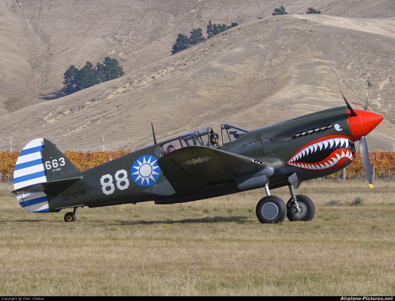 Private NZ3009 aircraft at Omaka