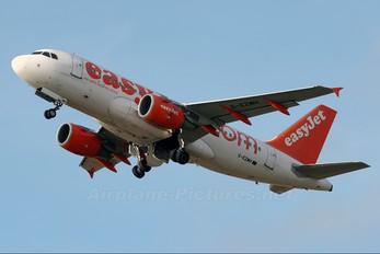 G-EZMH - easyJet Airbus A319