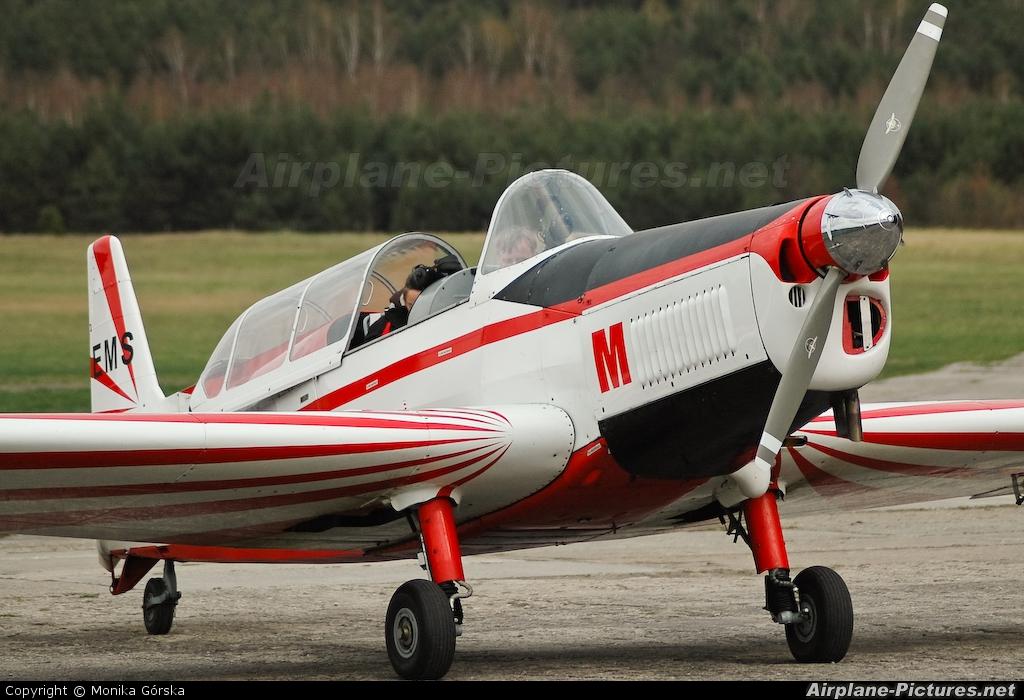 Aeroklub Nadwislanski SP-EMS aircraft at Grudziadz - Lisie Katy
