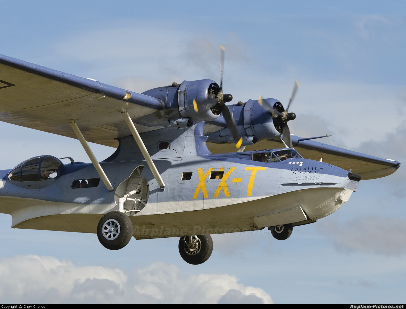 Private ZK-PBY aircraft at Omaka