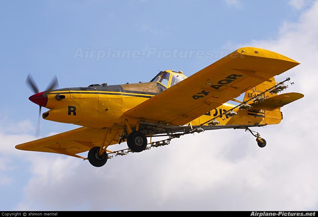 Telem Aviation 4X-AQR aircraft at Megido