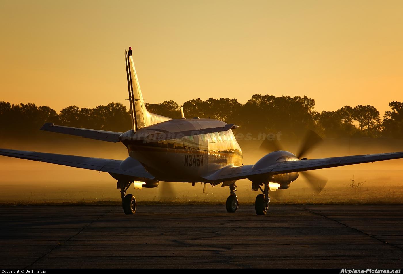Private N345V aircraft at Houma - Terrebonne