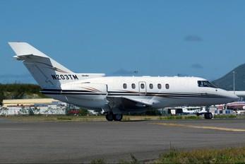 N203TM - Private Hawker Beechcraft 800