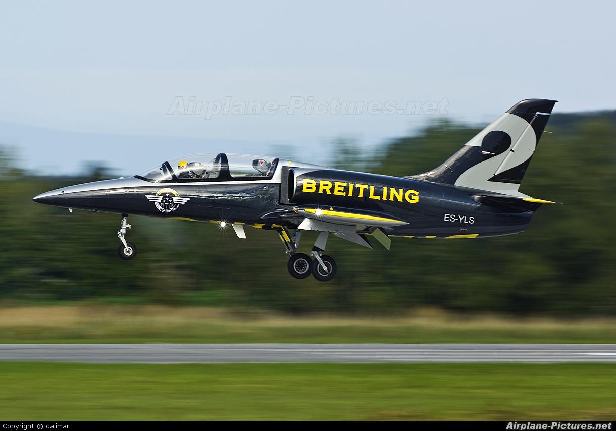 Breitling Jet Team ES-YLS aircraft at Hradec Králové