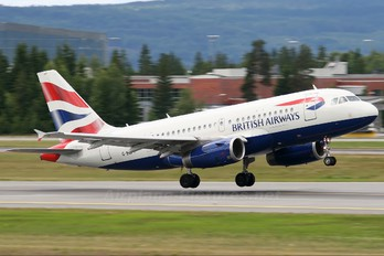 G-EUPT - British Airways Airbus A319