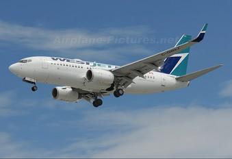C-GWAZ - WestJet Airlines Boeing 737-700