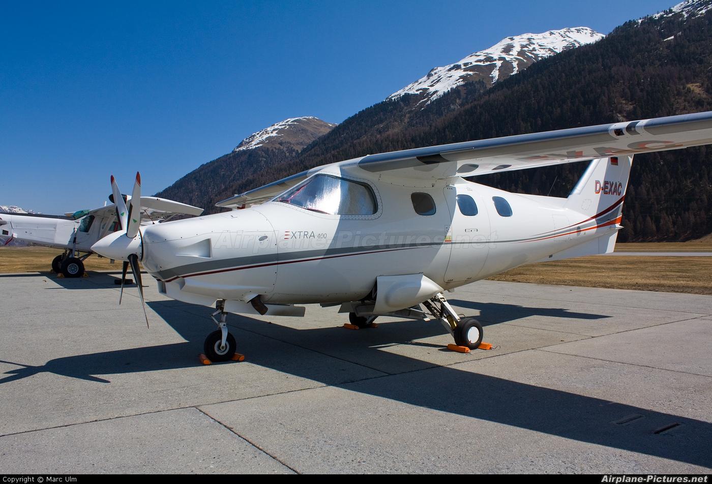 Private D-EXAC aircraft at Samedan - Engadin