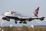 G-CIVB - British Airways Boeing 747-400 aircraft