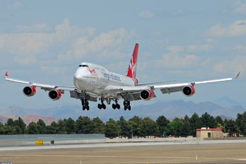 G-VTOP - Virgin Atlantic Boeing 747-400