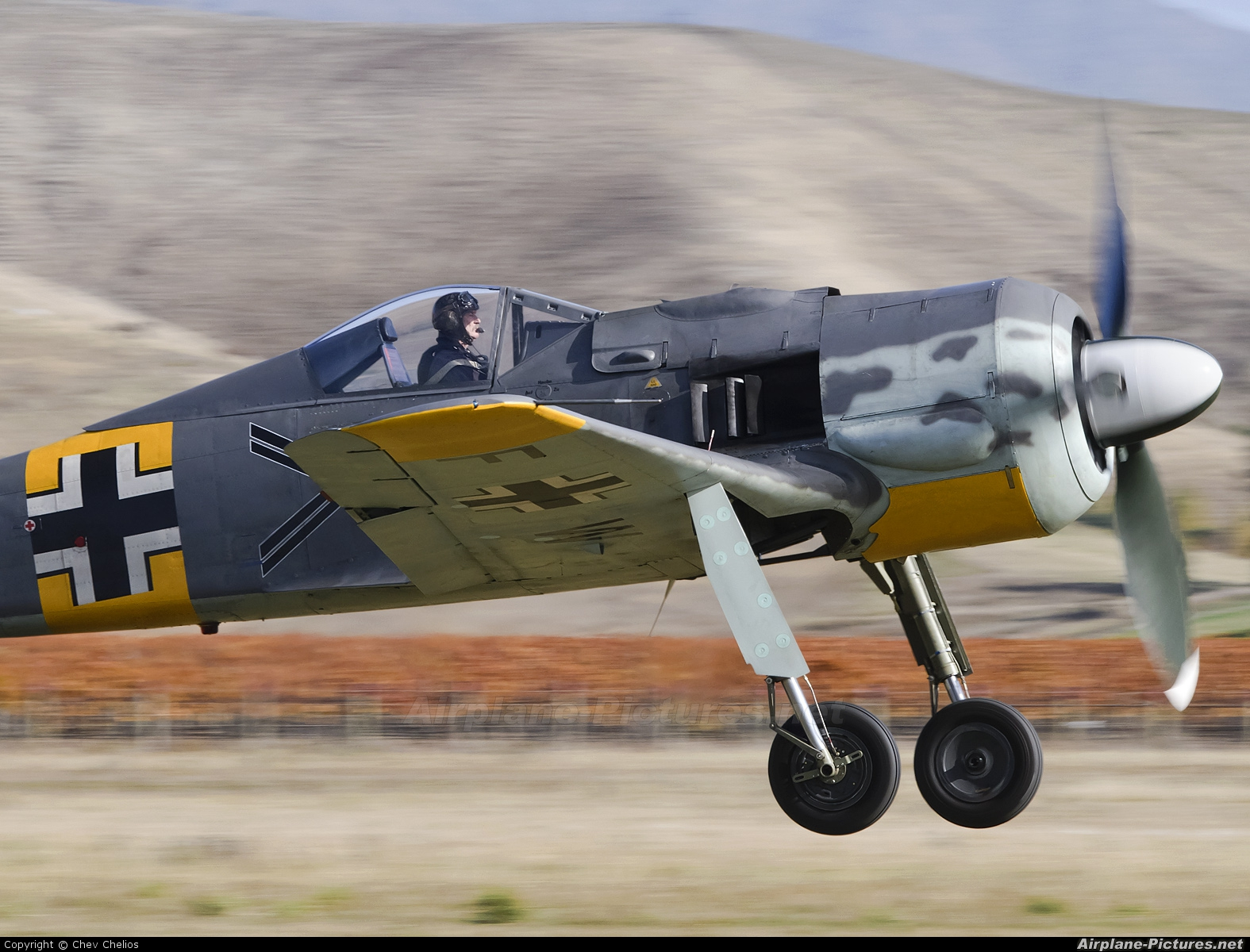 Private D-FWWC aircraft at Omaka
