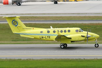 LN-LTE - Lufttransport Beechcraft 200 King Air