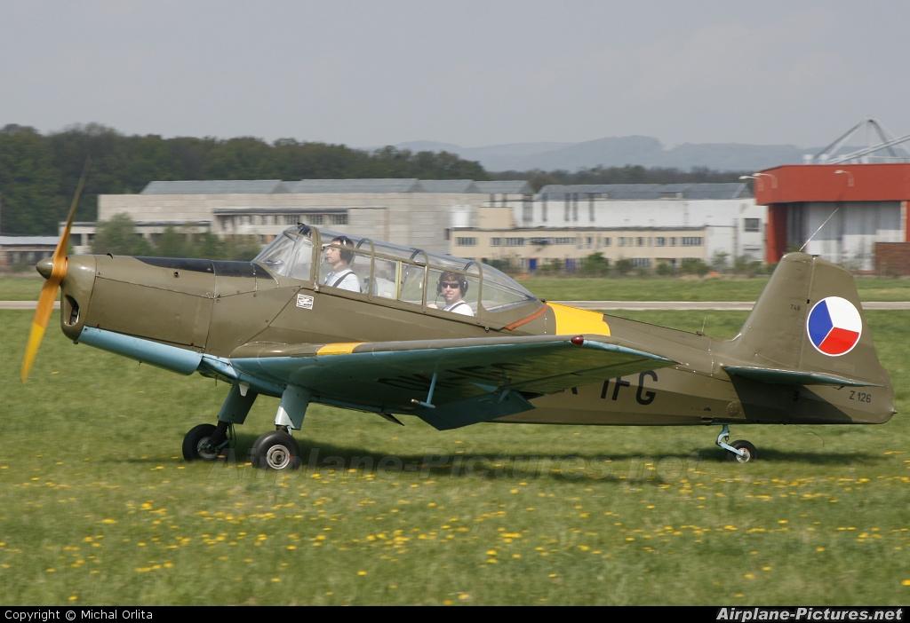 Slovacky Aeroklub Kunovice OK-IFG aircraft at Uherské Hradiště - Kunovice