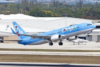 OO-JAQ - CanJet Airlines Boeing 737-800