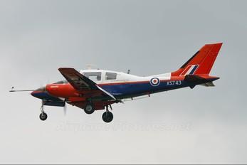 XS743 - Royal Air Force: Empire Test Pilots School Beagle B206 Basset