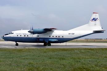 UR-CBF - AeroVis Airlines Antonov An-12 (all models)