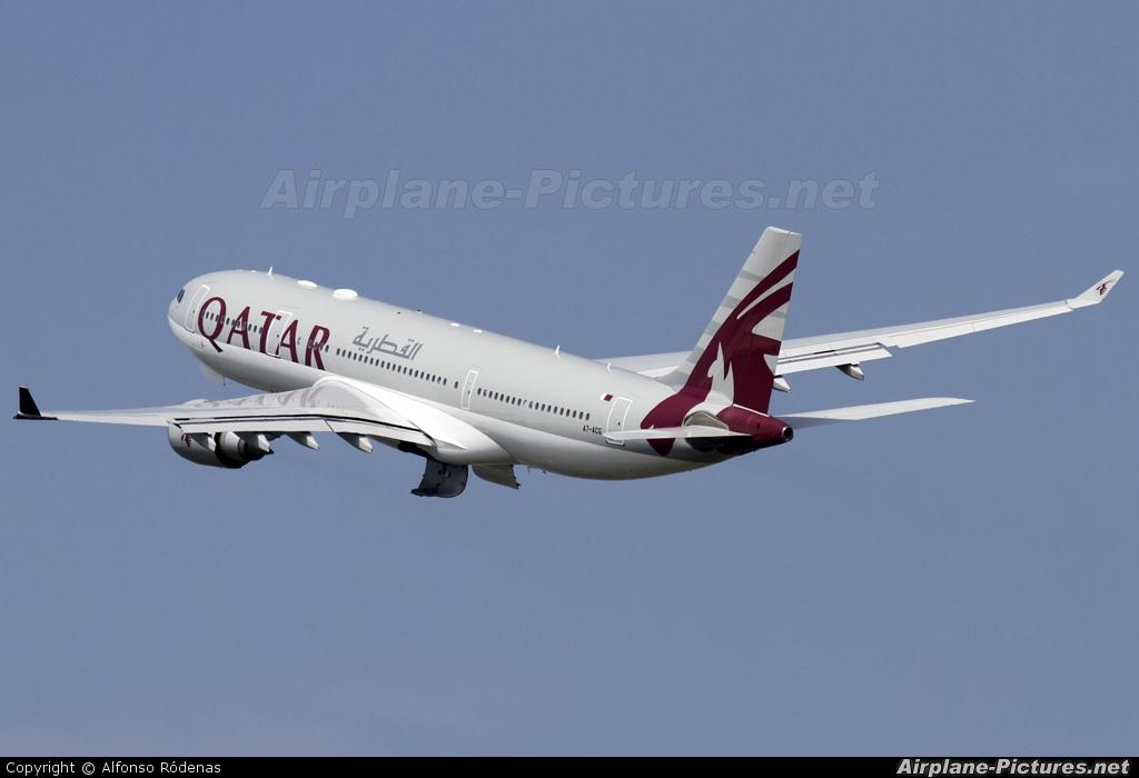 Qatar Airways A7-ACG aircraft at Barcelona - El Prat