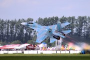 63 - Belarus - Air Force Sukhoi Su-27UBM aircraft