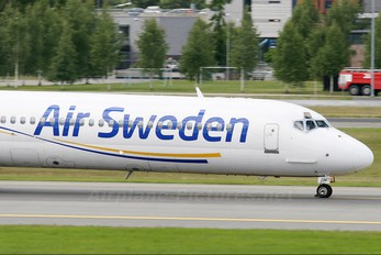 SE-DMT - Air Sweden McDonnell Douglas MD-81