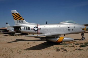 53-1525 - USA - Air Force North American F-86H Sabre