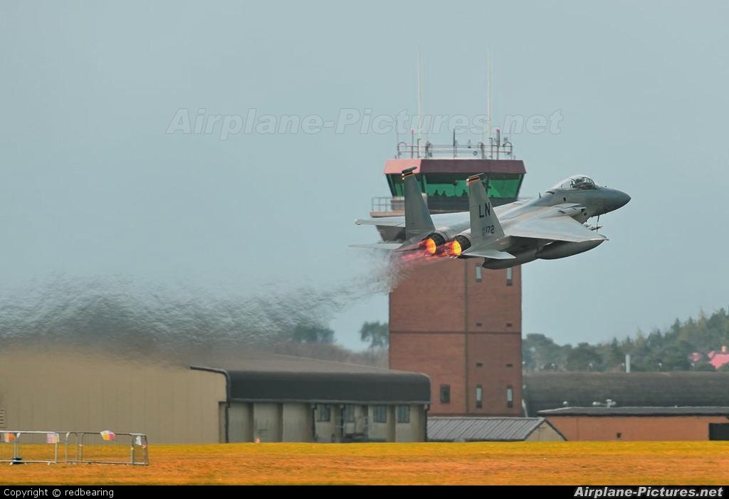 USA - Air Force 86-0172 aircraft at Lakenheath