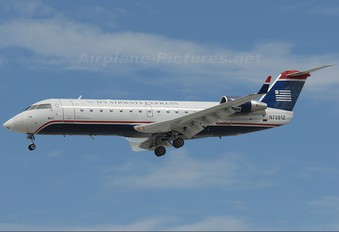 N7291Z - US Airways Express Canadair CL-600 CRJ-200