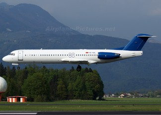 4O-AOL - Montenegro Airlines Fokker 100