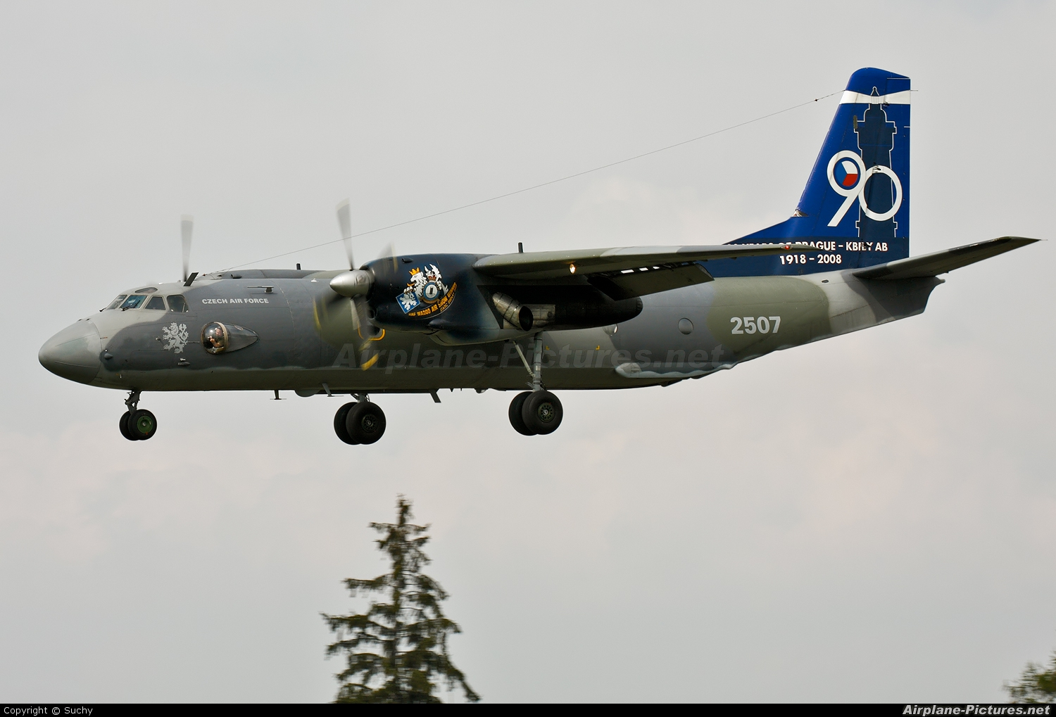 Czech - Air Force 2507 aircraft at Prague - Kbely