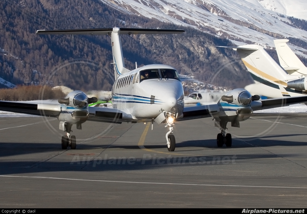 Private D-CWKM aircraft at Samedan - Engadin