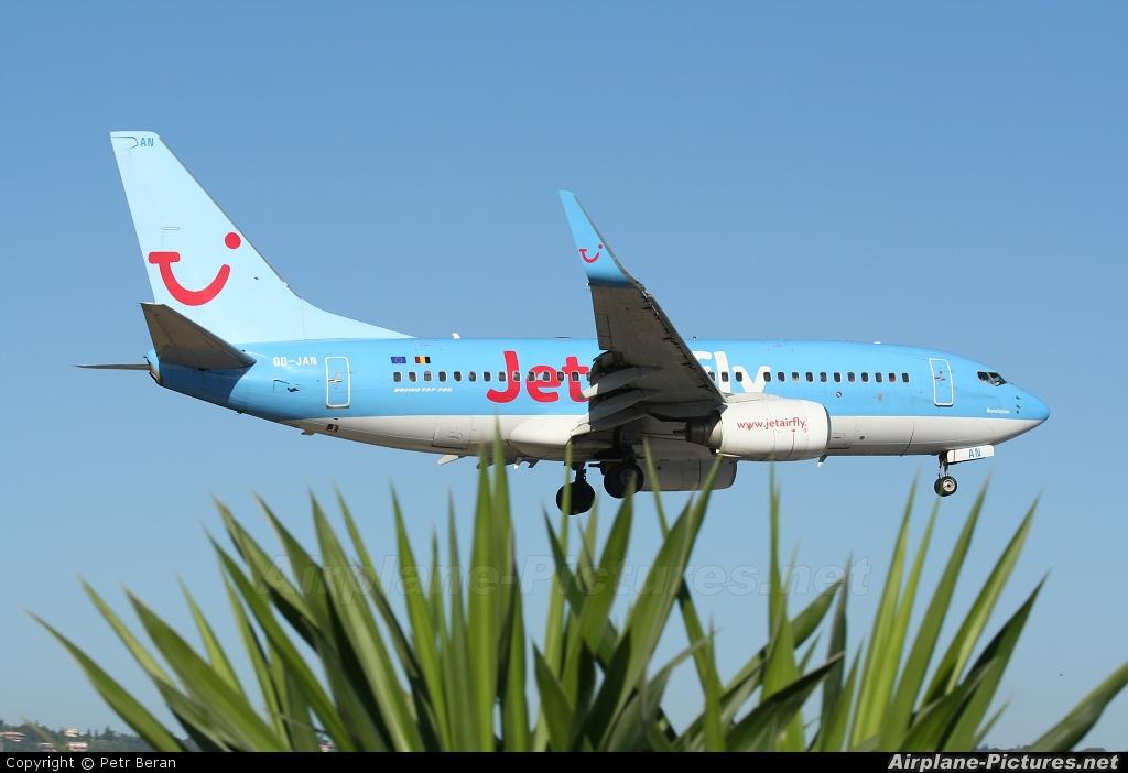 Jetairfly (TUI Airlines Belgium) OO-JAN aircraft at Corfu - Ioannis Kapodistrias