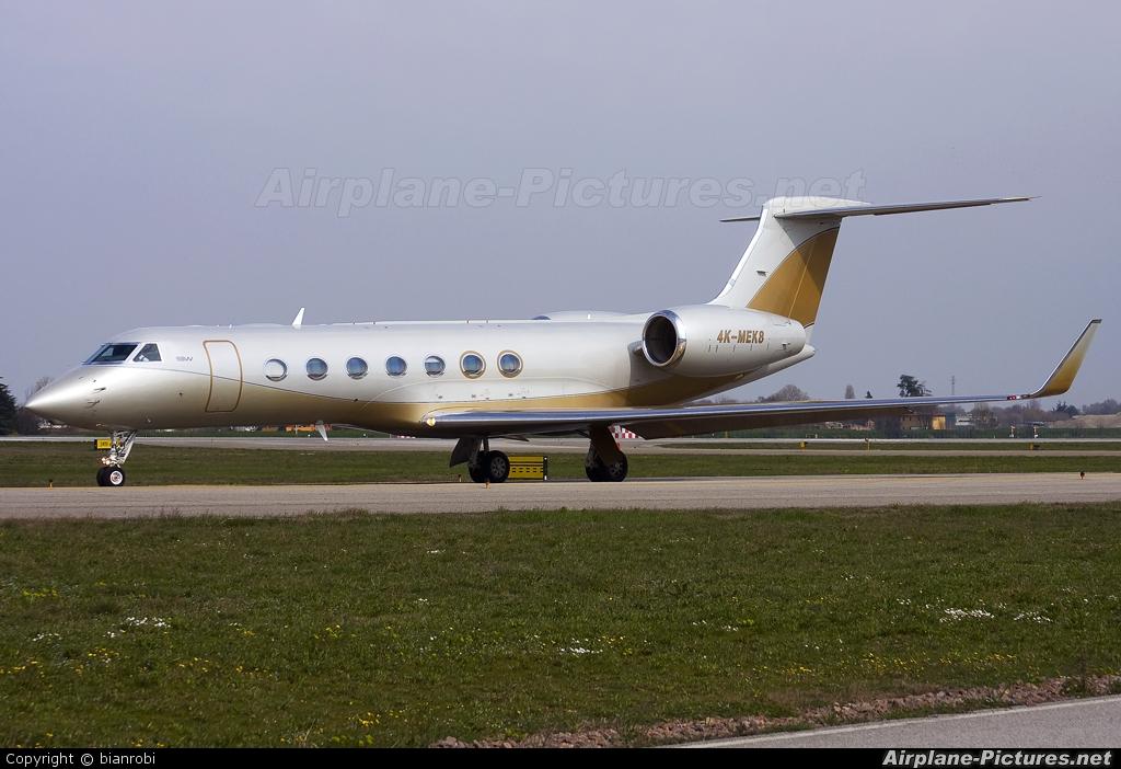 SW Business Aviation 4K-MEK8 aircraft at Bologna - Borgo Panigale